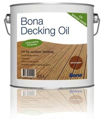BONA DECKING OIL - 2 ,5 L - Цвет Белый - СУЛЕЮВЕК