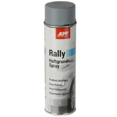 Farba podkładowa akrylowa szara spray 500ml APP
