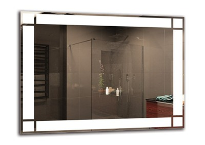 зеркало ванной LED 80x60 см | премиум M1ZP-60