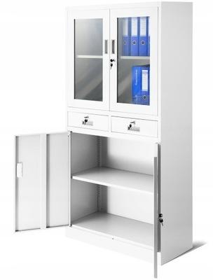 шкаф металлическая офисная RODO на дело  НОВАК