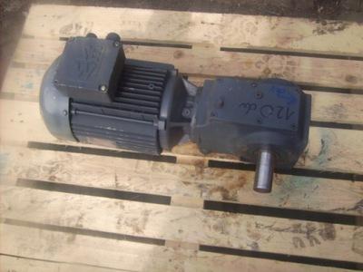 silnik elektryczny 2.2 kw motoreduktor 120 obr