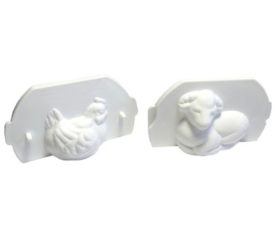 Прессформы на ульи лисички и агнец (комплект )