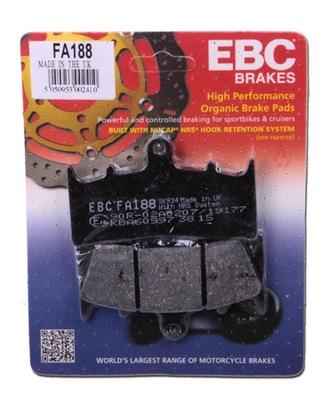 EBC Front Right Organic Brake Pads Kawasaki GT 550 G1-G9 83-01 FA67