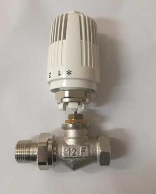 Priamy termostatický ventil 1/2 + hlavica KPL HERZ