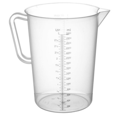 Графин мерка полипропиленовая со шкалой 3Л