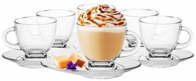 Чашки для кофе чай 230ml 6шт + блюдца