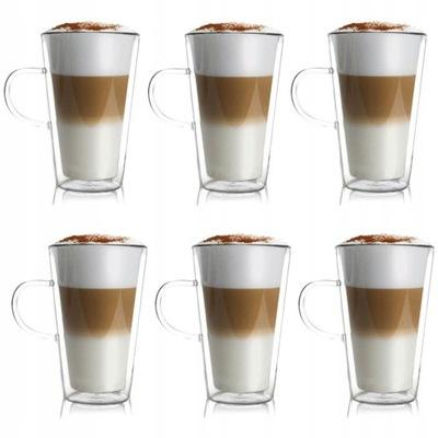 Стаканы термостойкие для кофе латте чая 320 мл