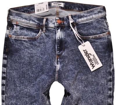 WRANGLER spodnie jeans HIGH RISE SKINNY W28 L32