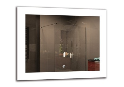 зеркало ванной LED 60x50 см | DELUXE M1ZD-50