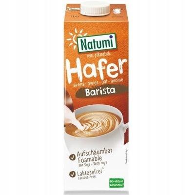 NATUMI овсяные Напиток с соевыми бобами barista 1л