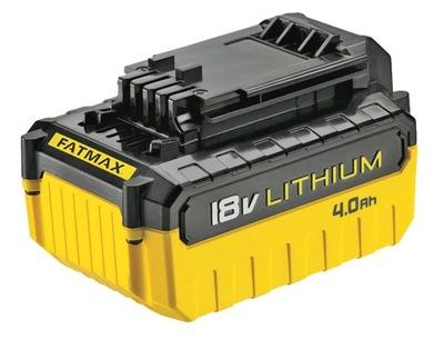 Batérie 18V Li-ion 4,0 Ah STANLEY FATMAX FMC688L