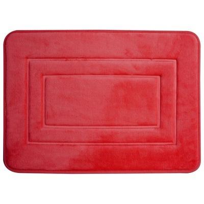 Protišmyková podložka -Dywanik łazienkowy 40x60 San 3D miękki czerwony