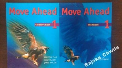 Move Ahead 1 Podręcznik+Ćwiczenia NOWE angielski