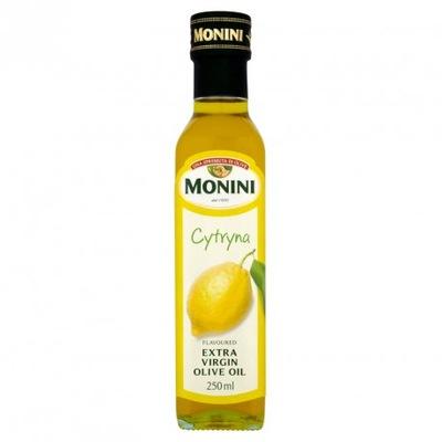 Monini оливковое масло оливковое  vergine с лимоном 250 мл