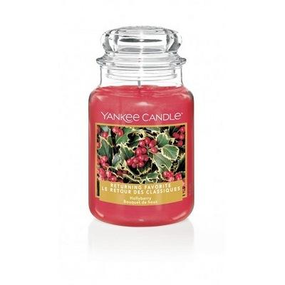 Hollyberry Yankee Candle veľké voňavé sviečky