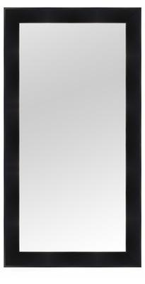 зеркало в раме 120x70 белое Венге черные венге микс