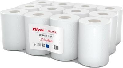LAMIX бумажные Полотенца Cliver ролики 12pcs белое