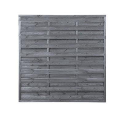Plot drevo je uzavretá 180x180x3x3 sivá