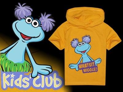 KIDS CLUB *** oryg KOSZULKA Widget World *** 116