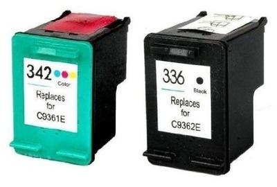 2x TUSZ 336 342 Photosmart C3180 C3190 C3194 FV