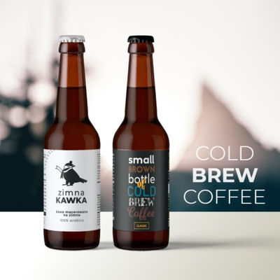 Cold Brew Coffee - кофе macerowana на холод 330 мл