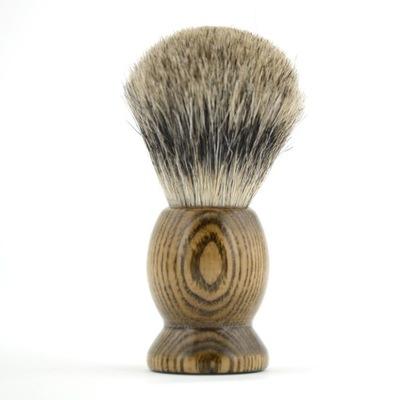 Pędzel Do Golenia BORSUK Premium Sandal Wood Drewn