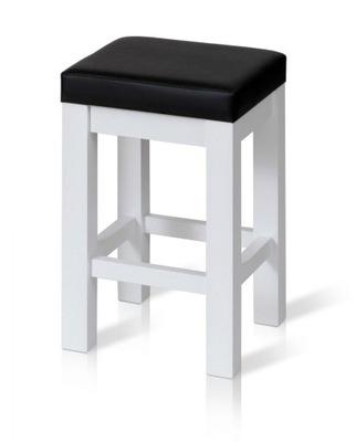 Taboret kuchenny stołek ERGO-P tapicerowany lakier