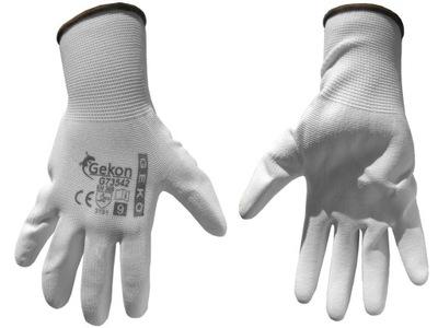 перчатки защитные GEKO белое размер 10