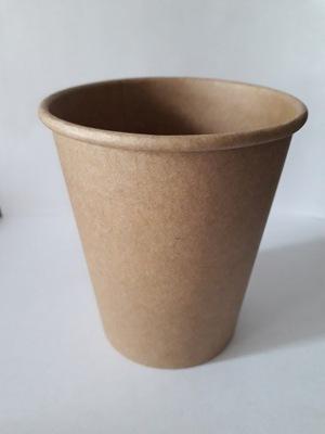 Kubki papierowe eko brązowe KRAFT 250ml 100szt