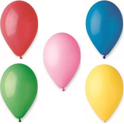Воздушные шары Пастель Gemar G90 микс Цвета-10 штук