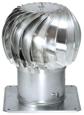HLAVA pre KOMÍNOVÝ 150 TRN 150 mm pozinkovaná TURBÍNY