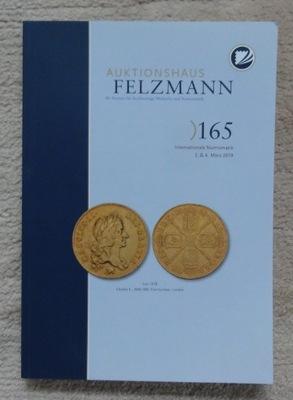 Каталог аукциона № 165 компании Felzmann