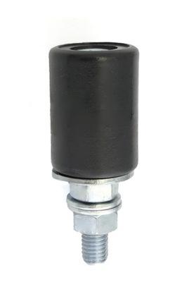 Zupełnie nowe ROLKA PROWADZĄCA DO BRAMY PRZESUWNEJ fi 25 mm - 7297161974 OI85