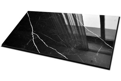 плитки Плитка керамогранит Черный Мрамор 160X80 CERAL