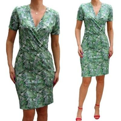 8711f748ad Sukienka rozmiar 56 w Sukienki - Moda damska na Allegro.pl