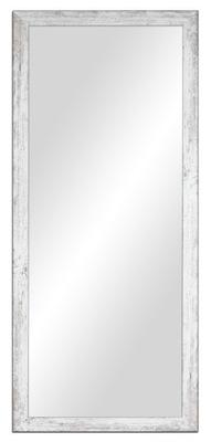 137x57cm zrkadlo ošumelé elegantné, biela,šedá,hnedá,čierna