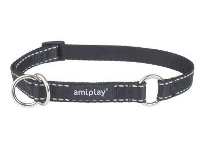 Amiplay воротник półzaciskowa Reflective L черная