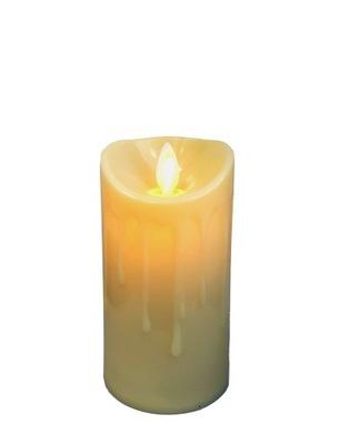 Świeca LED 11cm Ruchomy płomień dekoracja