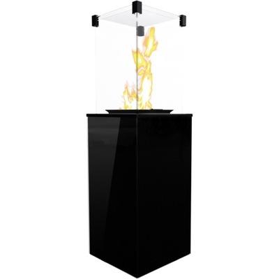 Plynový krb - DÁŽDNIK KÚRENIE, KÚRENIE na zemný PLYN, KÚRENIE BLACK