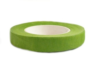FT002 лента флористика оптовиков j зеленый 27m маскировки