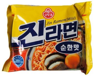 Корейская суп Jin Ramyun 120г Ottog Мгновенное
