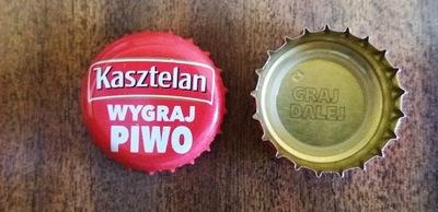 Sierpc - Kapsel z piwa - Kasztelan WYGRAJ PIWO