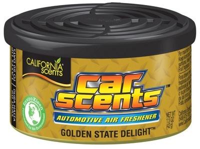 CALIFORNIA CAR SCENTS zapach GOLDEN STATE DELIGHT