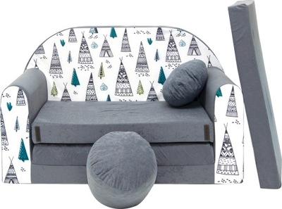 диван ДИВАН-кровать для детей двухъярусная подушка
