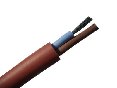 Кабель, провод силиконовый SIHF 2x0,75 Трос 180°C