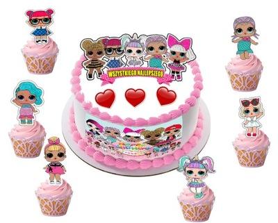 вафля крупный на торт кексы instagram лол+надпись