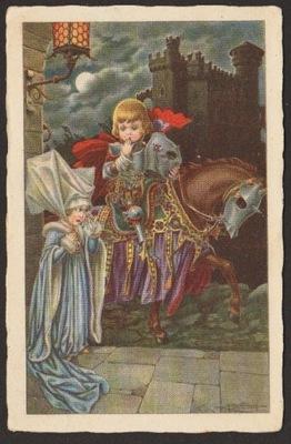 РЫЦАРЬ И ПРИНЦЕССА [ДЕТЕЙ]. 1930 (Дата instagram )