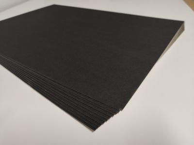 картон черная 1 ,2мм моделируя A4 20 листов