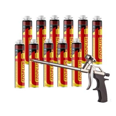 Polyuretánová izolácia sprej IZOPLUS11+zbraň