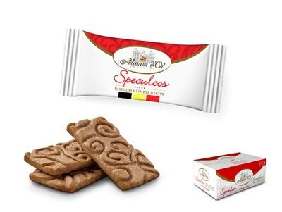 Бельгийские пирожные с карамелью Speculoos x 300 штук